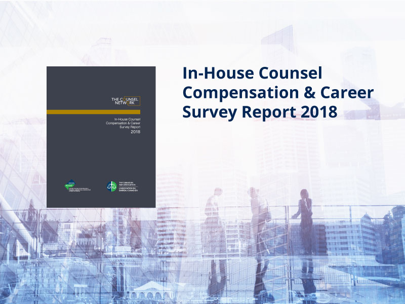 Press Release – 2018 In-House Counsel Compensation & Career